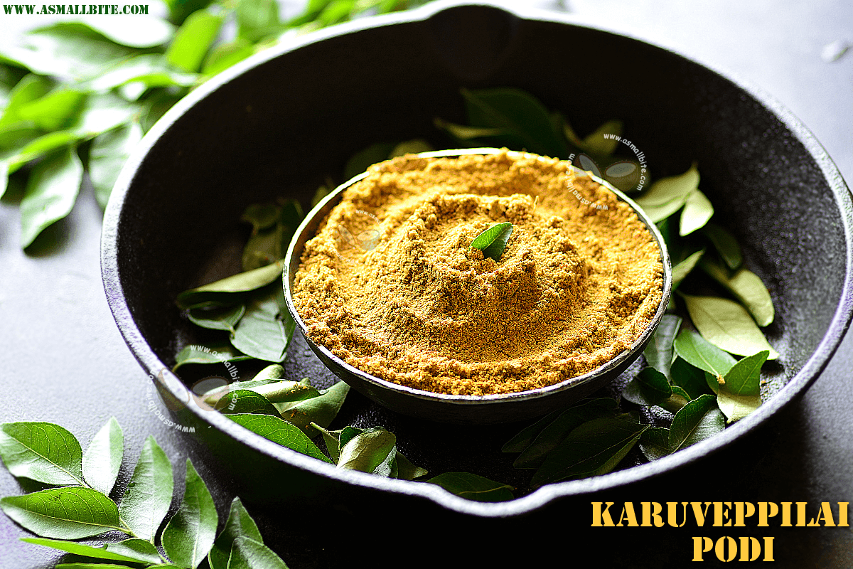 Karuveppilai Podi Recipe