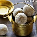Sathu Maavu Laddu Recipe | Millet Laddu Recipe