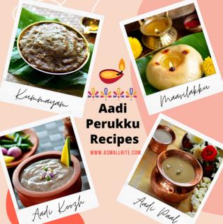 Aadi Perukku Recipes