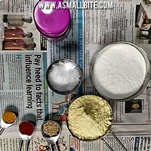 Besan Flour Murukku