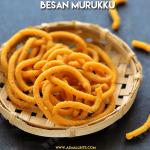 Besan Murukku Recipe | Kadalai Maavu Murukku