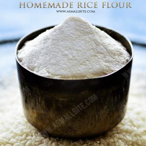 Homemade Rice Flour