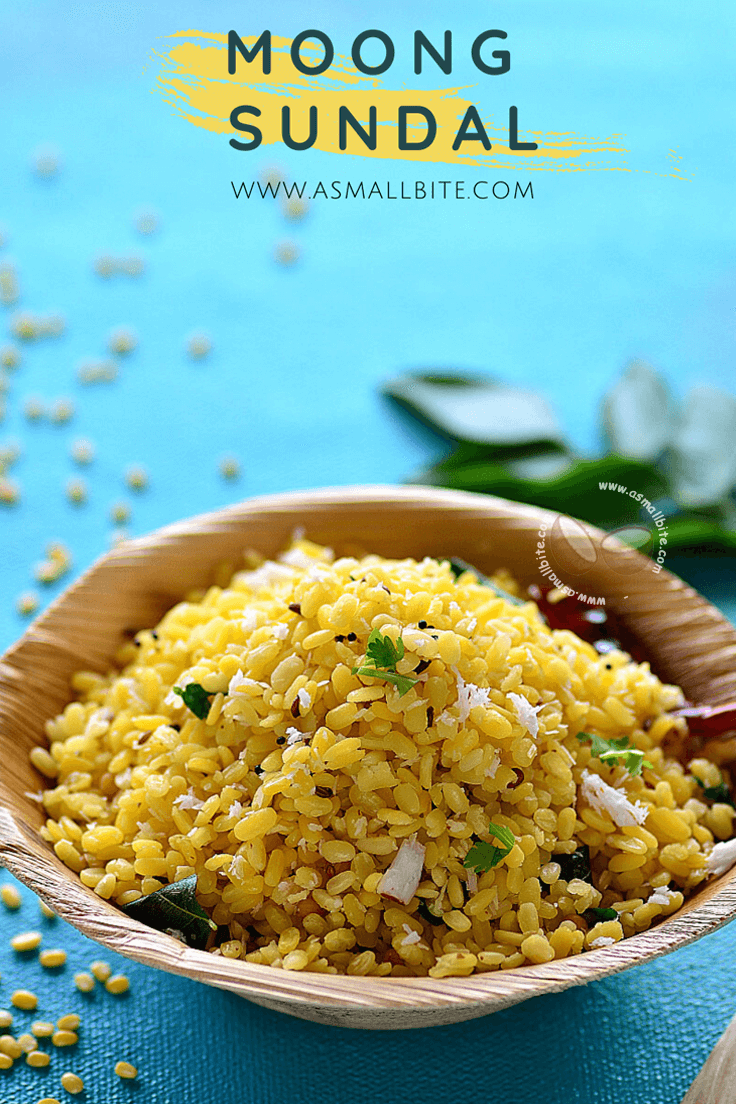 Moong Sundal Recipe