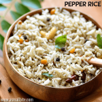Pepper Rice Recipe | Milagu Sadam Recipe