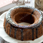 Coffee Cake Recipe | Coffee Walnut Cake