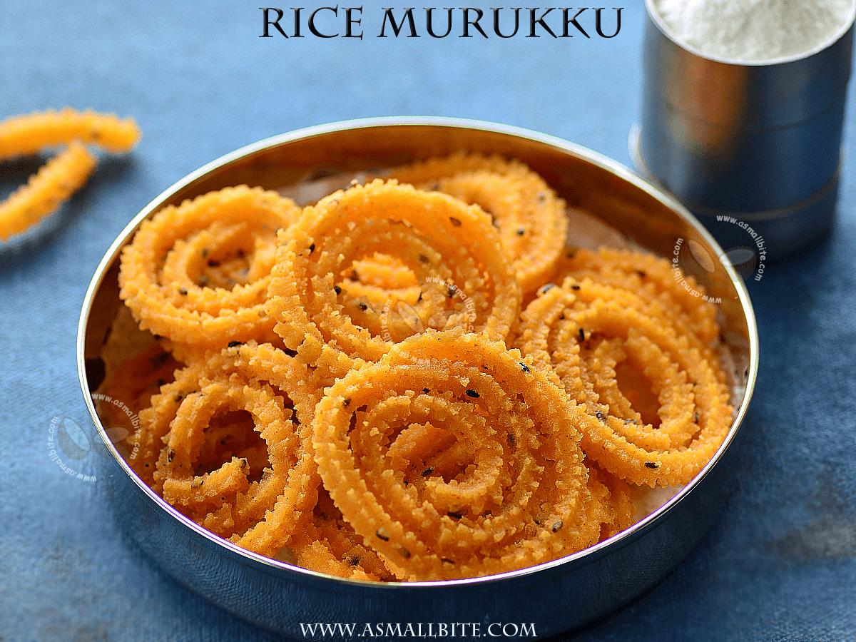 Rice Murukku Recipe