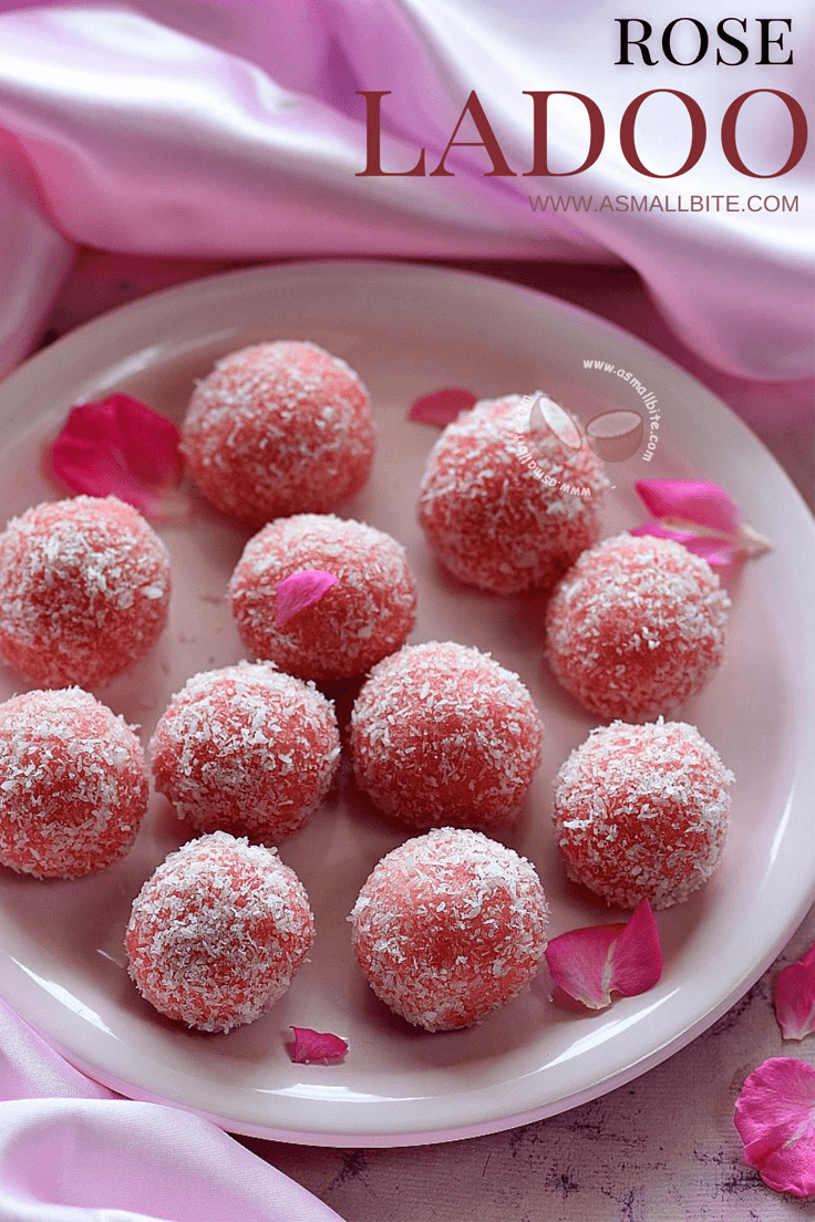Rose Ladoo Recipe