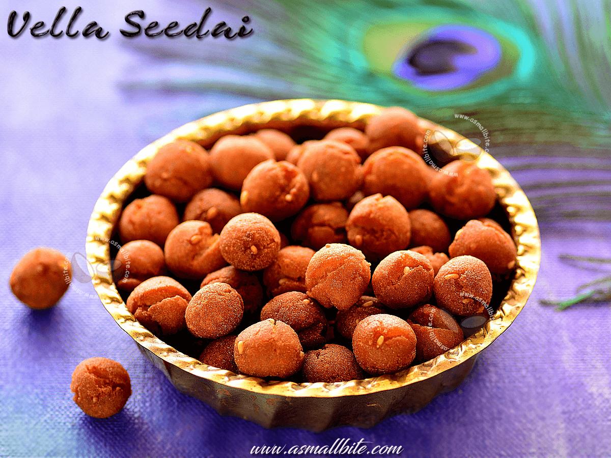 Vella Seedai Recipe