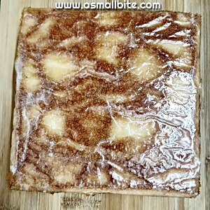 Eggless Hot Milk Cake