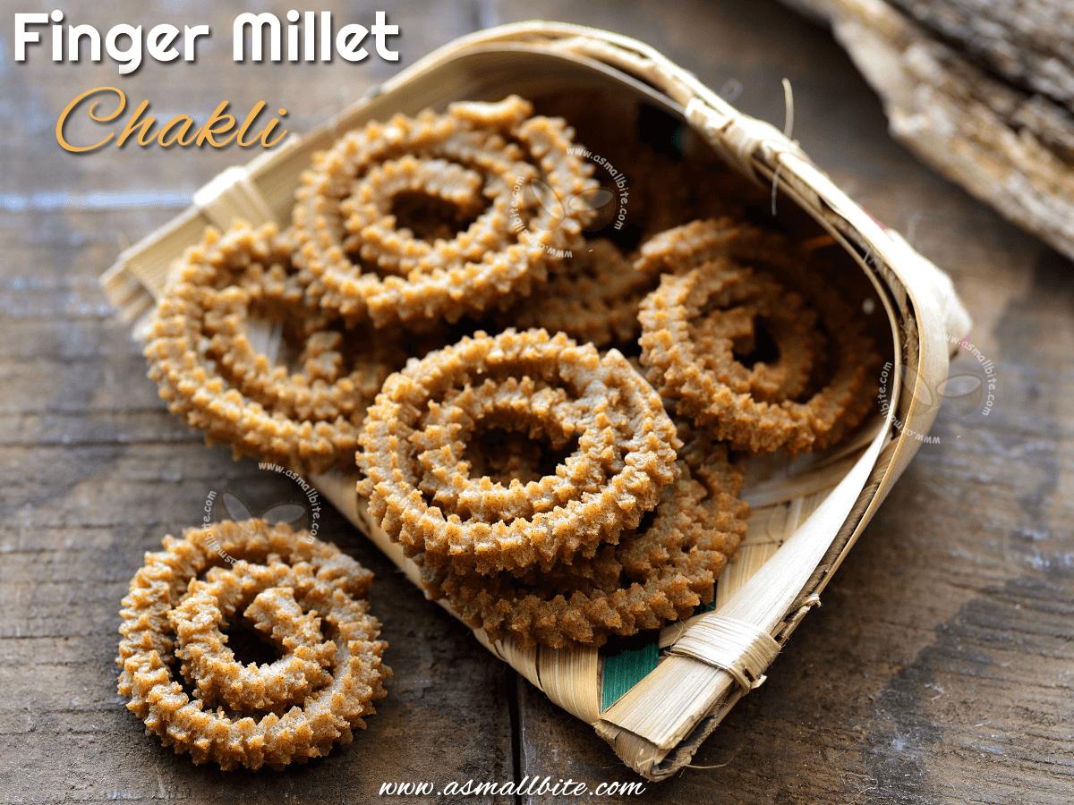 Finger Millet Chakli