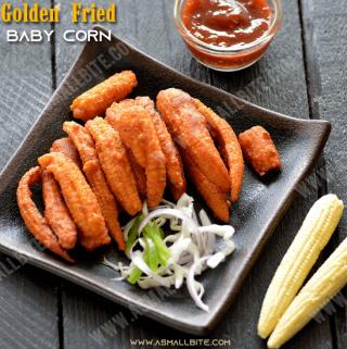 Golden Fried Baby Corn