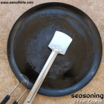 How to season iron tawa | Irumbu Dosa kallu seasoning