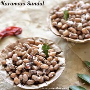 Karamani Sundal