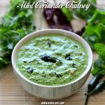 Mint Coriander Chutney Recipe | Pudina Kothamalli Chutney