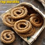 Ragi Murukku Recipe | Finger Millet Murukku