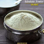 Sabudana Powder For Babies