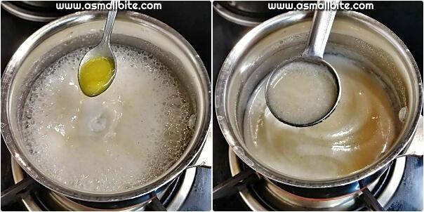 Sago Urad Porridge