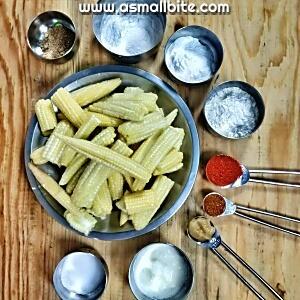 Crispy baby corn recipes