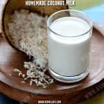 Homemade Coconut Milk | How to make Coconut Milk