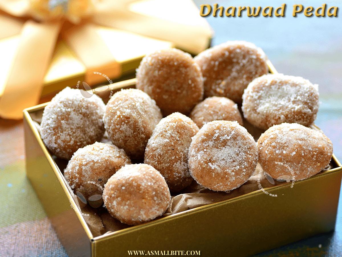 How to make Dharwad Peda