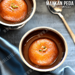 Arcot Makkan Peda Recipe | Makkan Peda Sweet