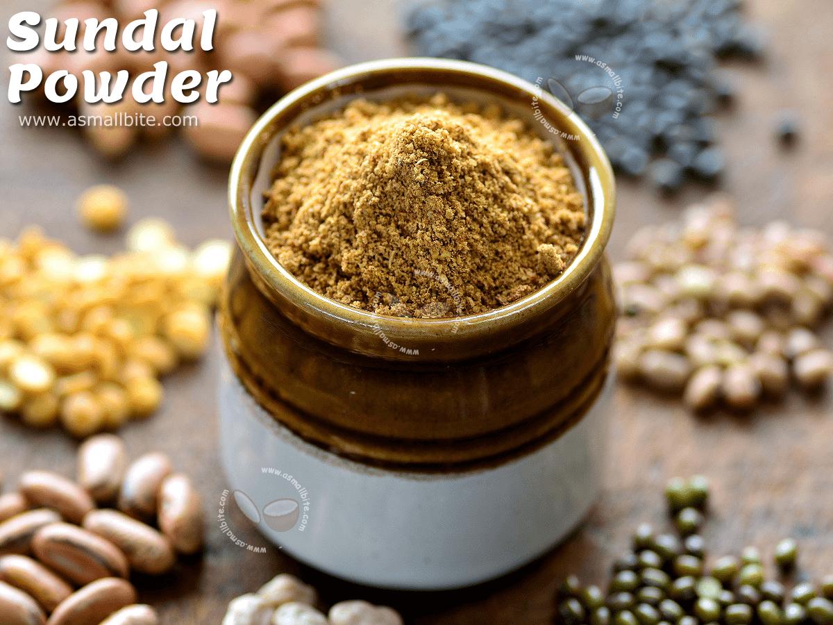 Sundal Powder Recipe