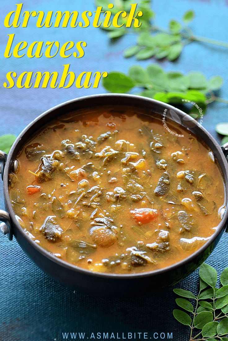 Drumstick Leaves Sambar Recipe