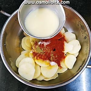 Fry Potato Recipe