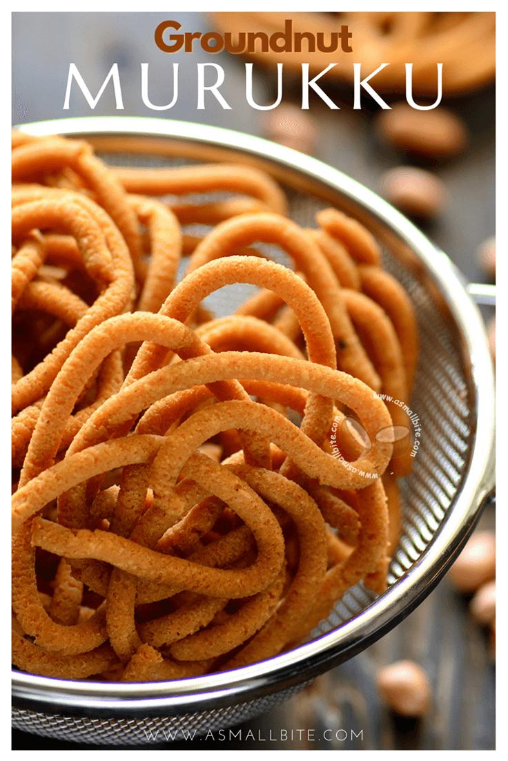 Groundnut Murukku Recipe