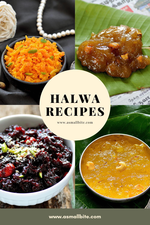Halwa Recipes