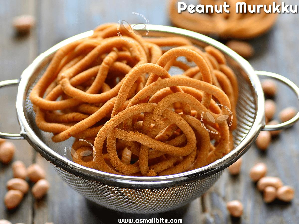 Peanut Murukku Recipe