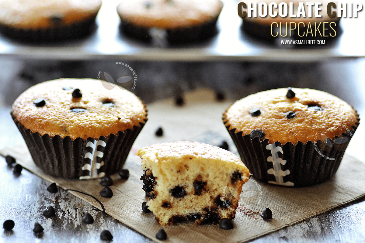 Chocolate Chip CupCakes Recipe
