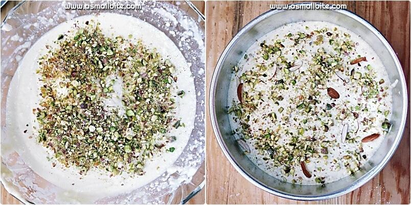 Merwans Mawa Cake Recipe