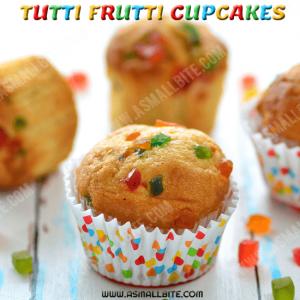 Tutti Frutti Cupcake