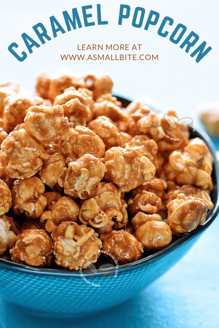Best Caramel Popcorn Recipe