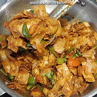 Chapati Chilli