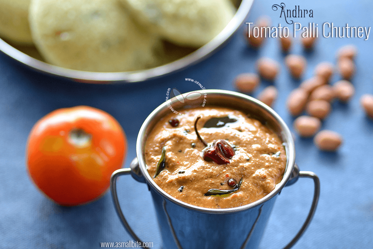 Andhra Tomato Palli Chutney