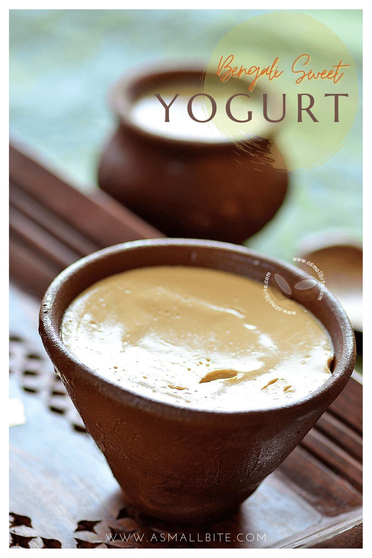 Bengali Sweet Yogurt Recipe