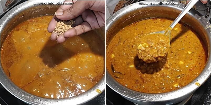 Karamani Kuzhambu Recipe