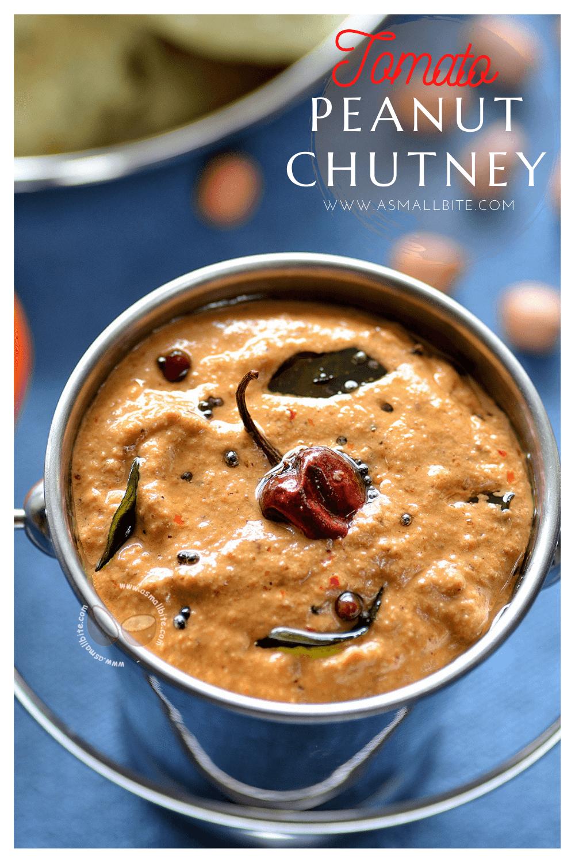 Peanut Tomato Chutney