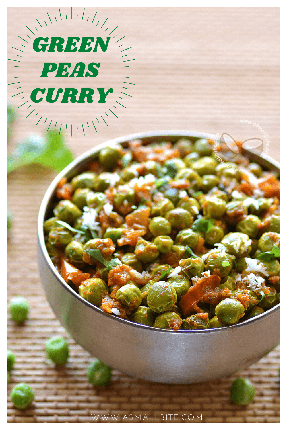 Green Peas Curry