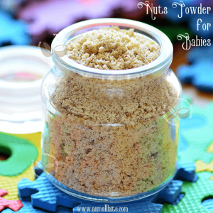 Nuts Powder For Babies