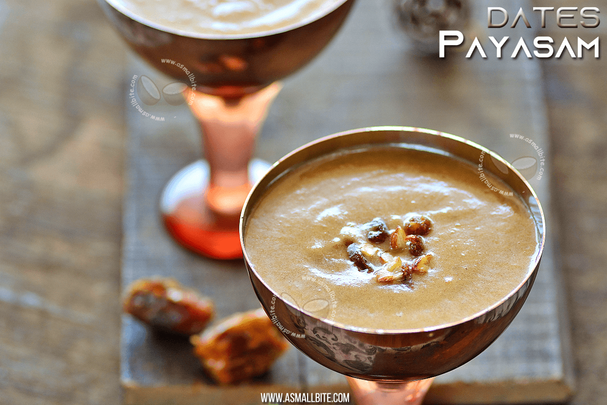 Dates Payasam Recipe