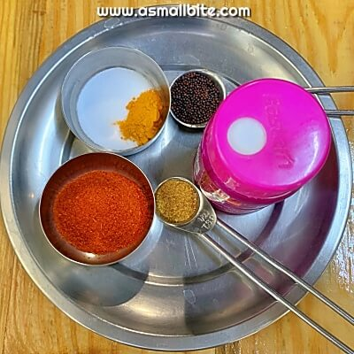 Grated Mango Pickle