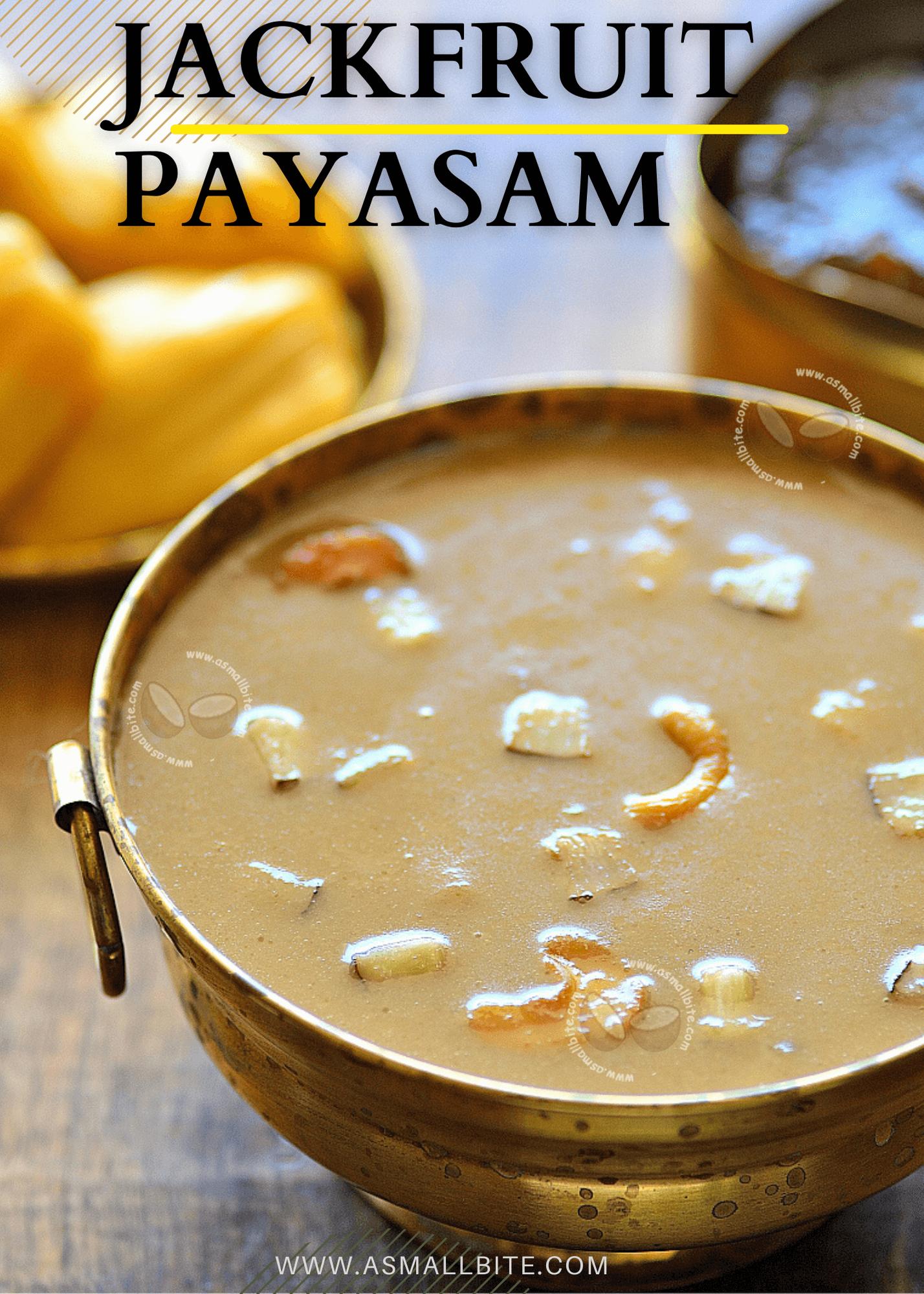 Jackfruit Payasam Recipe