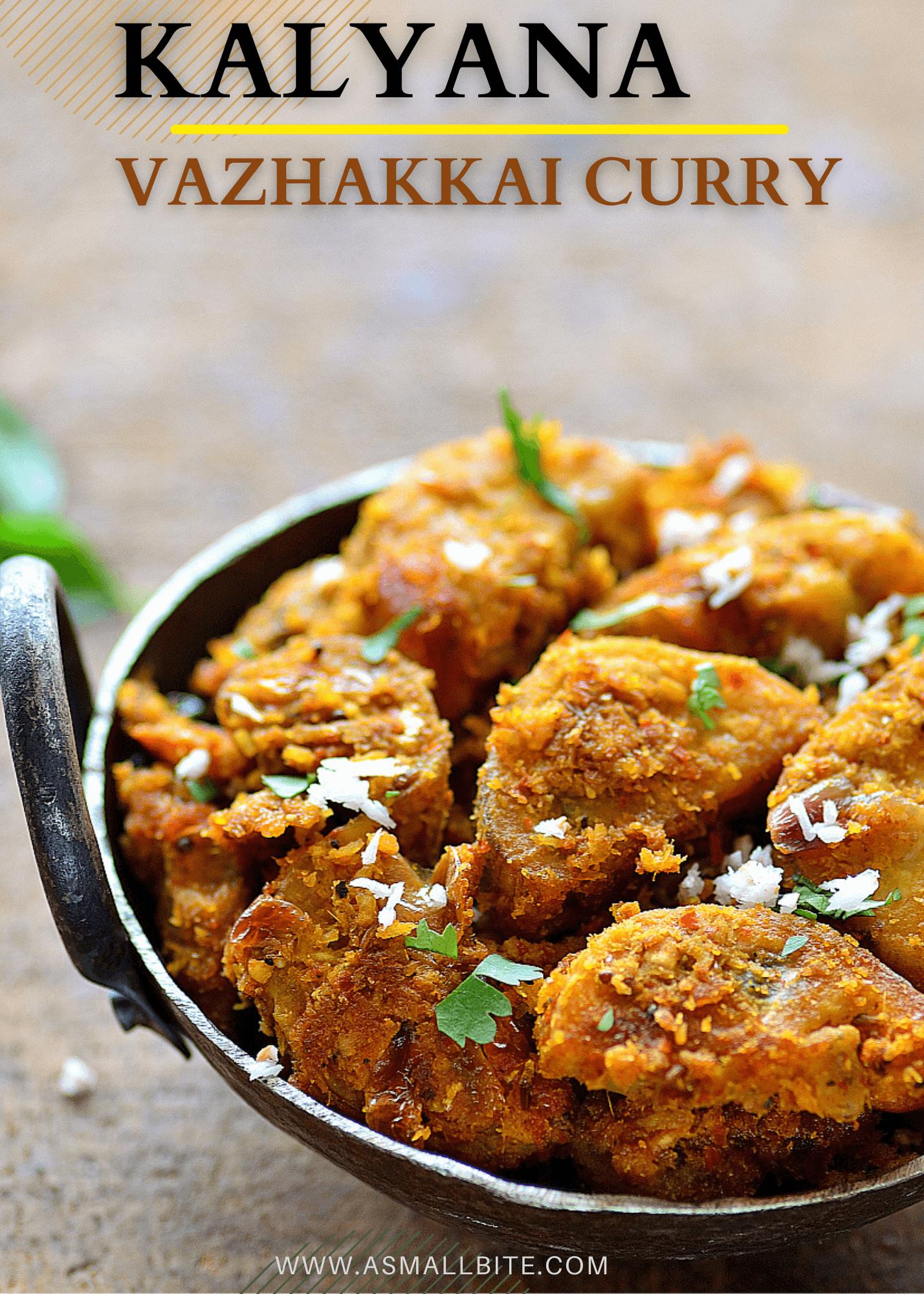 Kalyana Vazhakkai Curry