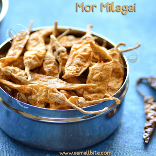 Mor Millagai Recipe