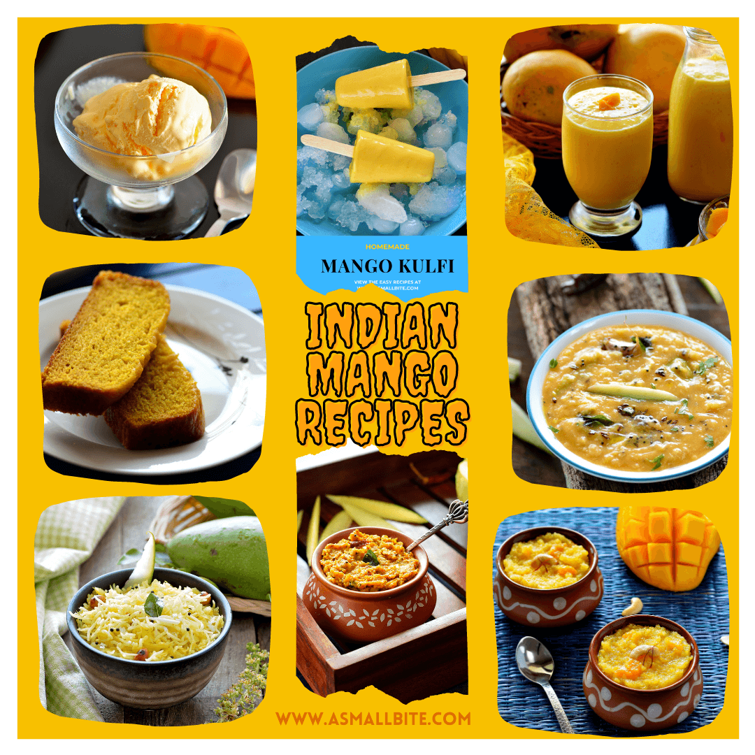 Popular Indian Mango Recipes