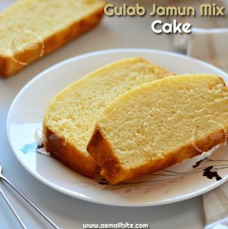 Gulab Jamun Mix Cake