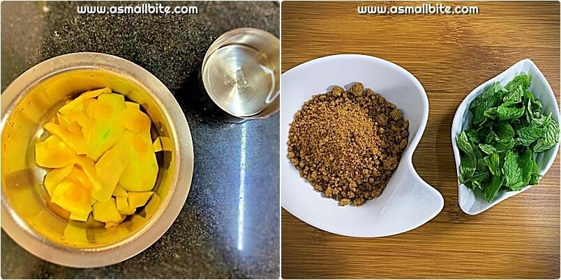 How to make Aam Panna